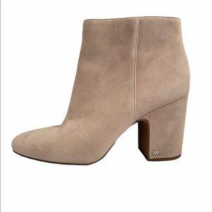 MICHAEL Michael Kors Elaine suede leather bootie